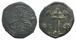 Alexius I (1081-1118). Æ Tetarteron (18mm, ...