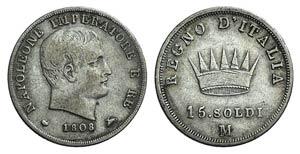 Italy, Milano. Napoleone I (Regno ...