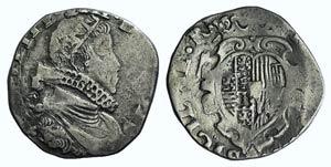 Italy, Napoli. Filippo IV (1621-1665). AR ...