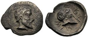 Sicily, Litra, Himera, c. 479-409 BC; AR (g ...
