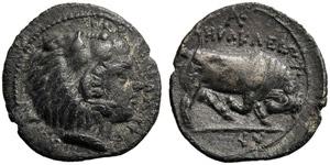 Sicily, Litra, Kephaloidion, c. 307-305 BC; ...
