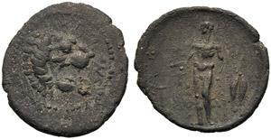 Sicily, Litra, Leontinoi, c. 450-440 BC; AR ...