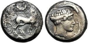 Sicily, Second Democracy (466-405), ...