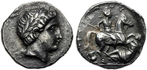 Kings of Paeonia, Patraos (335-315), ...