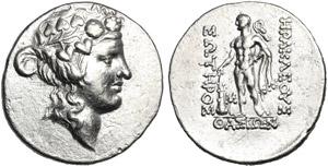 Islands of Thrace, Tetradrachm, Thasos, ...