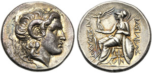 Kings of Thrace, Lysimachos, 323-281 and ...