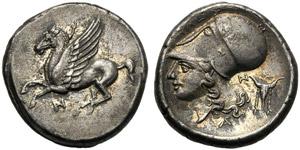 Akarnania, Stater, Anactorion, c. 350-300 ...