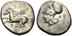 Akarnania, Stater, Leukas, c. 435-380 BC; AR ...