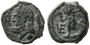 Apulia, Uncia, Venusia, c. 210-200 BC; AE (g ...