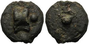 Anonymous, Cast Uncia, Rome, c. 280 BC; AE ...