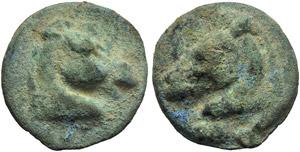 Anonymous, Cast Triens, Rome, c. 275-270 BC; ...