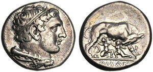 Anonymous, Didrachm, Neapolis (?), after 276 ...