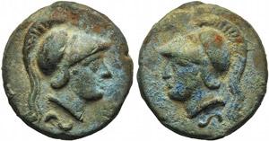 Anonymous, Cast Semis, Rome, c. 265 BC; AE ...