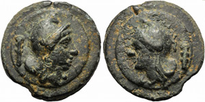 Anonymous, Cast As, Rome, c. 235 BC; AE (g ...