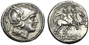 Anonymous, Quinarius, Rome, traditionally ...