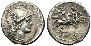 Anonymous, Denarius, Uncertain Mint, ...