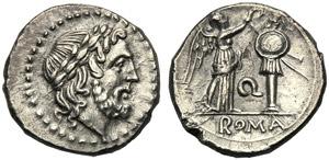 Anonymous (Q series), Victoriatus, Apulia, ...