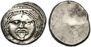 Etrury, 20 Units, Populonia, III cen. BC; AR ...