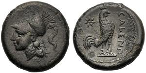 Campania, Bronze, Cales, c. 265-240 BC; AE ...