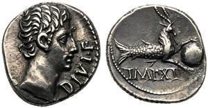 Augustus (27 BC - AD 14), Denarius, ...