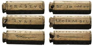 Time of Augustus, Tessera Nummularia, 25 BC; ...