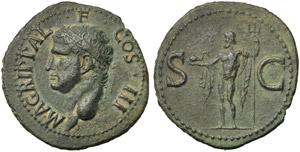 Agrippa (Gaius, 37-41), As, Rome, after AD ...