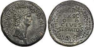 Claudius (41-54), Sestertius, Rome, c. AD ...