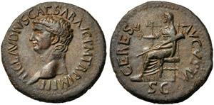 Claudius (41-54), Dupondius, Rome, c. AD ...