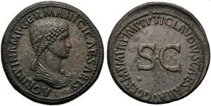 Agrippina Maior (Claudius, 41-54), ...