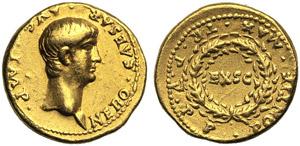 Nero (54-68), Aureus, Rome, AD 58-59; AV (g ...