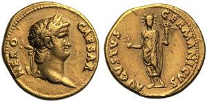 Nero (54-68), Aureus, Rome, c. AD 64-68; AV ...