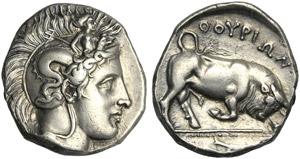 Lucania, Distater (Z group), Thourioi, c. ...