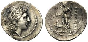 Bruttium, The Brettii, Hemidrachm, c. ...