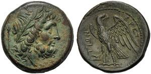 Bruttium, The Brettii, Unit, c. 211-208 BC; ...