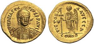 Anastasius I (491-518), Solidus, ...