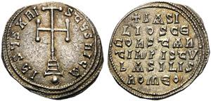 Basilius I with Constantinus (867-886), ...