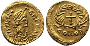 Ostrogoths, Odovacar (476-493), Tremissis, ...