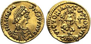 Ostrogoths, Theoderic (493-526), Tremissis ...