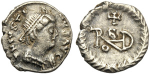 Ostrogoths, Thedoric (493-526), Quarter of ...