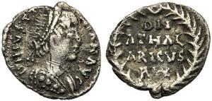 Ostrogoths, Athalaric (526-534), Quarter of ...