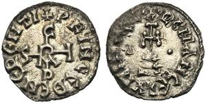 Italy, Benevento, Sicardo (832-839), Denaro, ...