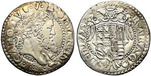 Italy, Napoli, Carlo V (1516-1556), Tarì, ...