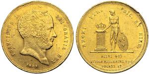 Napoli, Francesco I di Borbone (1825-1830), ...