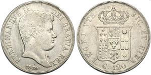 Italy, Napoli, Ferdinando II di Borbone ...