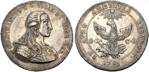 Italy, Palermo, Ferdinando III (1759-1825), ...