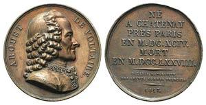 France, Arouet De Voltaire (1694-1778). ...