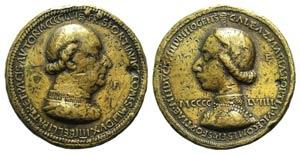 Italy, Francesco I (1401-1466) and Galeazzo ...
