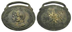 Italy, Æ Medal (45mm, 16.45g, 12h). RICORDO ...