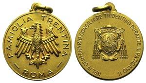 Italy, Gilt Medal (34mm, 9.97g, 12h). ...