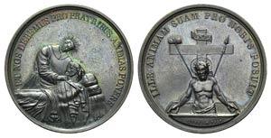 Religious Æ Medal 1839 (37mm, 25.63g, 12h), ...